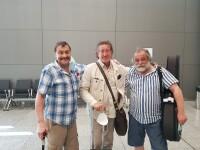 С Михаилом Кочетковым и Андреем Анпиловым