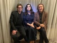 С Зарой и Александром Домогаровым