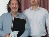 С Александром  Бураченковым