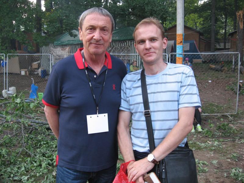 С Александром Яхонтовым