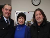 С Алексем Горшковым и Лидией Садчиковой