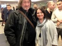 С Анной Аннет, декабрь 2017