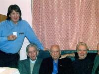 Олег Митяев, Валентин Глазанов, Александр Городницкий, Валентин Вихорев и Михаил Кане