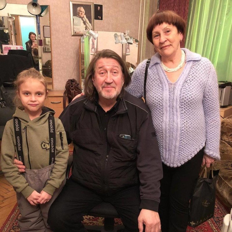 С Ариной Денисовой и Ларисой Коробицыной