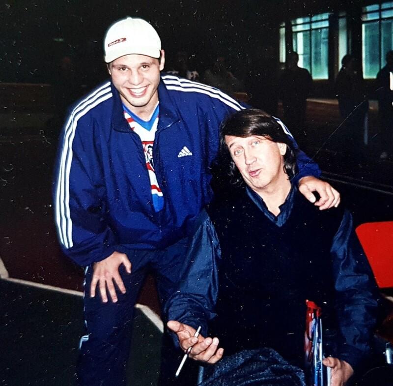 С Владимиром Крутоусом