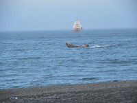 """""""Воздух пахнет стылым морем и серьёзным рыбным делом..."""""""