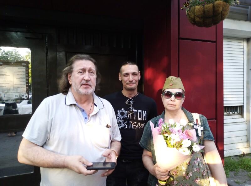 7.06.2019 На концерте в честь дня рождения Филиппа Августа в Glastonberry
