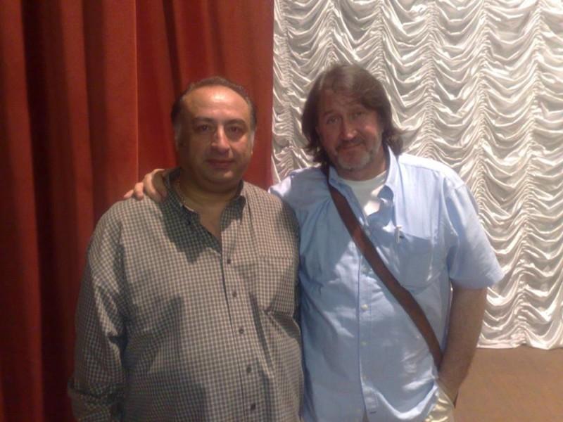 С Гочей Натиташвили. 7.08.2014