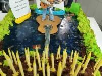 Юбилейный торт от Самарского клуба авторской песни им.В.Грушина