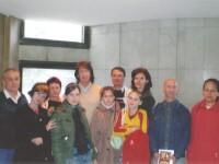 С одноклассниками после концерта. Челябинск