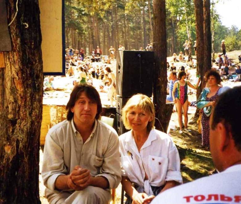 Грушинский фестиваль 90-е годы