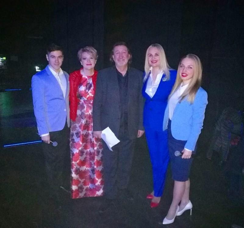 """С Мариной Есипенко и группой """"Калина Фолк"""""""