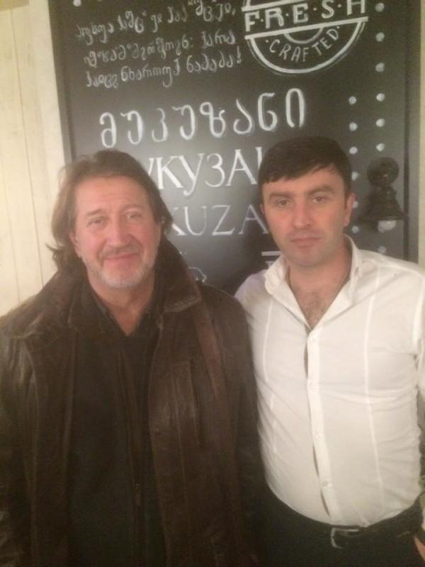 Олег Митяев и Коба Маргелашвили