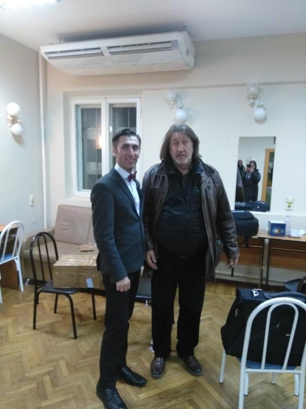 C Константином Лебедевым