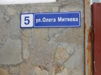 Улица Олега Митяева в коттеджном посёлке Вавиловец