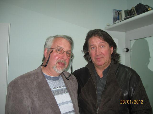 С Леонидом Амзельт