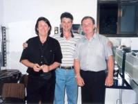 С Леонидом Каушанским и Леонидом Марголиным