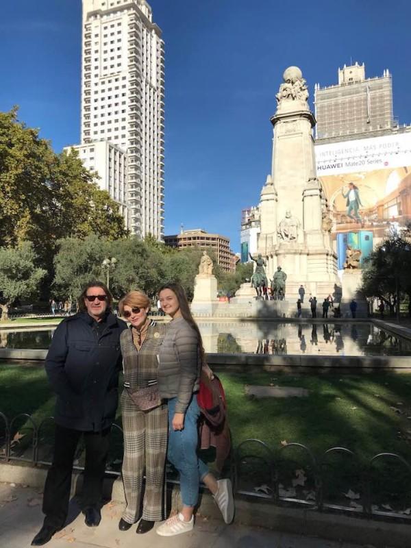 Мадрид, ноябрь 2018 г.