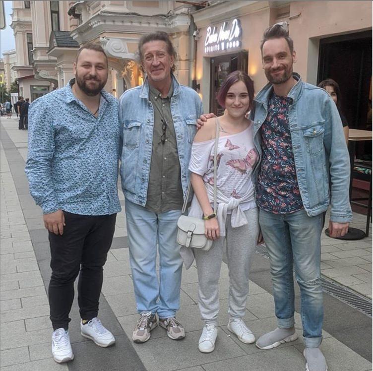 Павел Пиковский, Олег Митяев  и Василий Уриевский 29.07.2020.