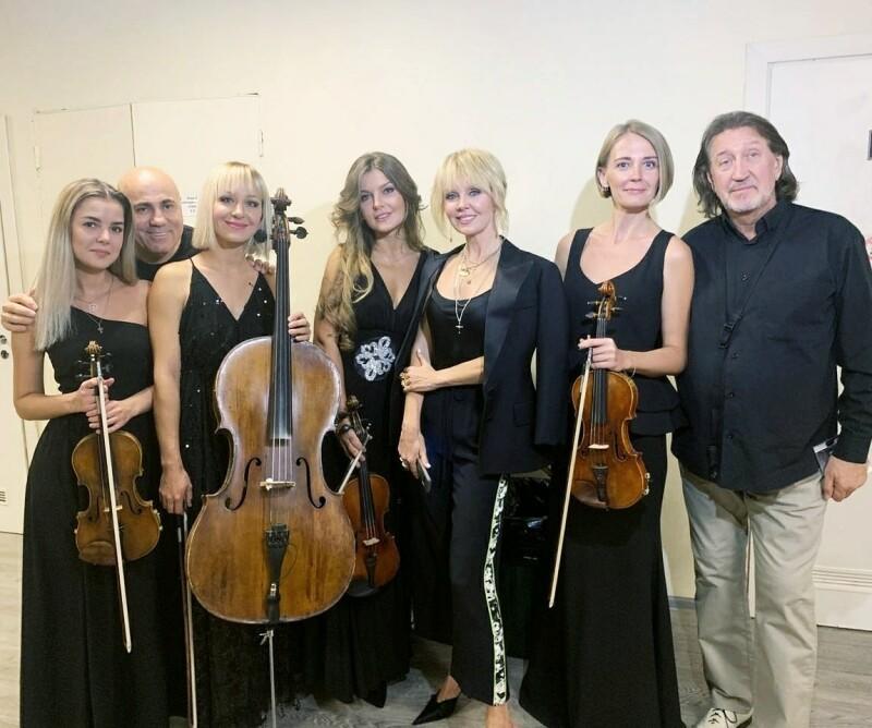 С Иосифом Пригожиным, Валерией и квинтетом Эдгара Акобяна