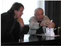 С Эрнстом Неизвестным. 2002 г.