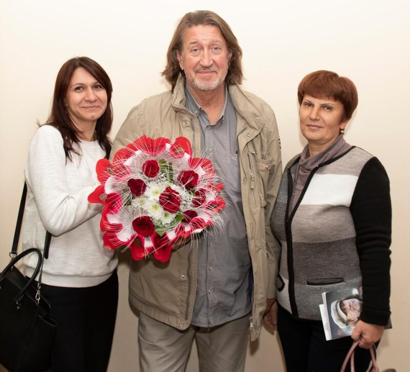 С Ольгой Барановой и Аллой Мосежной