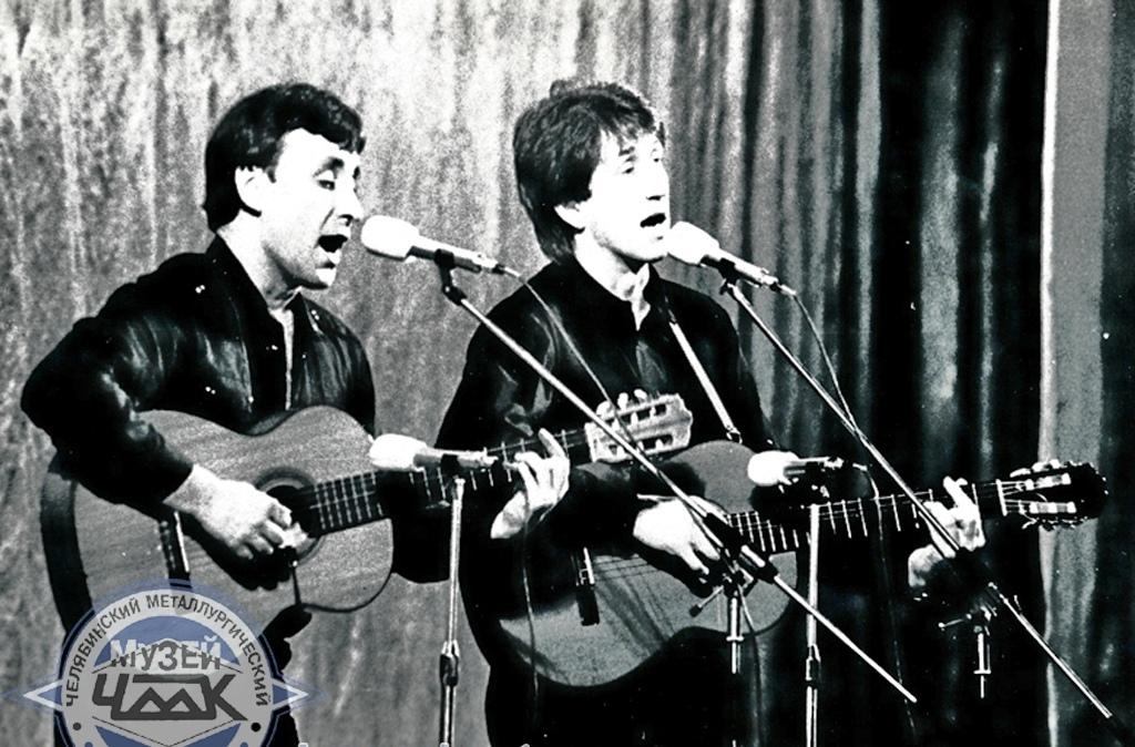 Олег Митяев и Пётр Старцев  9.02.1988 г.