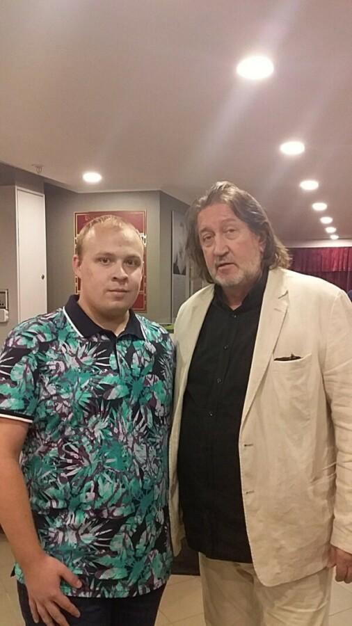 С Ренатом  Камалиевым