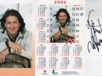 Автограф на юбилейном календарике 2006 г. Хабаровск, ГДК. 12.03.2020