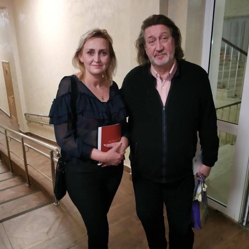 Со Светланой Паршиковой