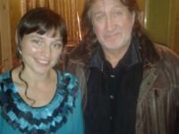 С Алёной Денисовой