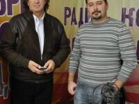 С Антоном Пименовым, март 2011 г.