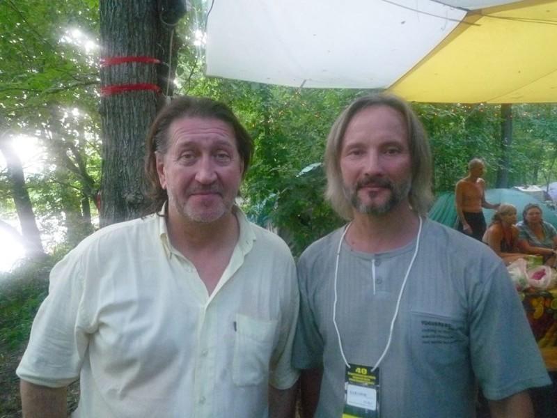 С Олегом Бажановым