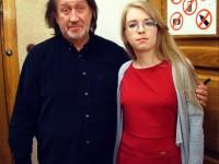 С Дарьей Дюжаковой