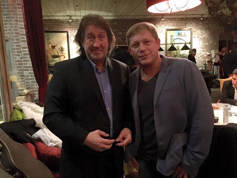С Евгением Якухиным, декабрь 2015 г.