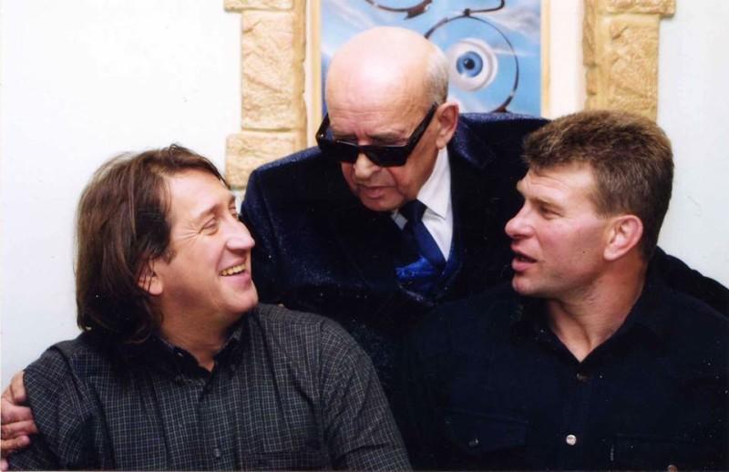 С Игорем Борисовым на дне рождения Сергея Трофимова. 2003 г.