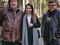 С Кристиной Джус и Эдуардом Ободзинским
