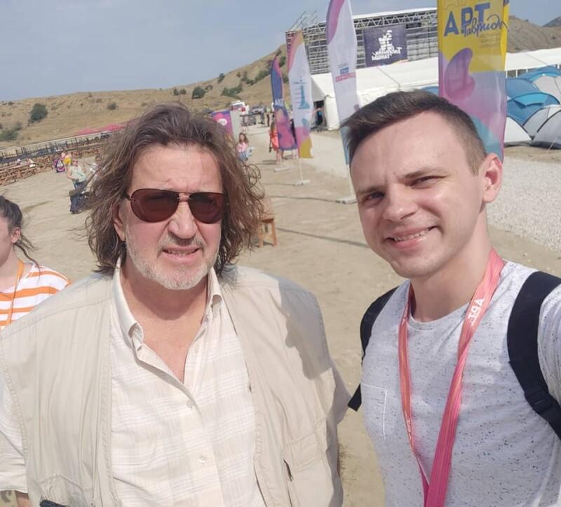 С Михаилом Зайцевым