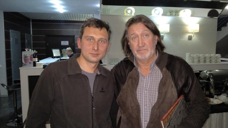 С Павлом Тарасенко