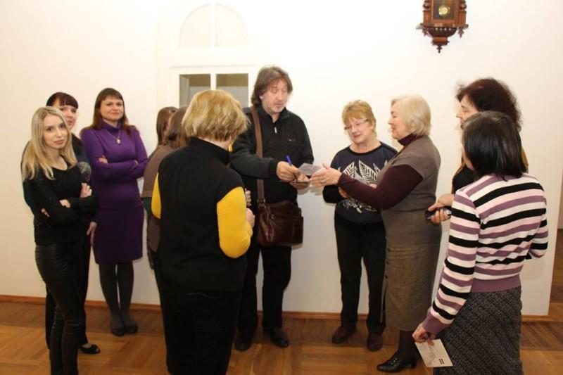 С сотрудниками музея-заповедника в Таганроге