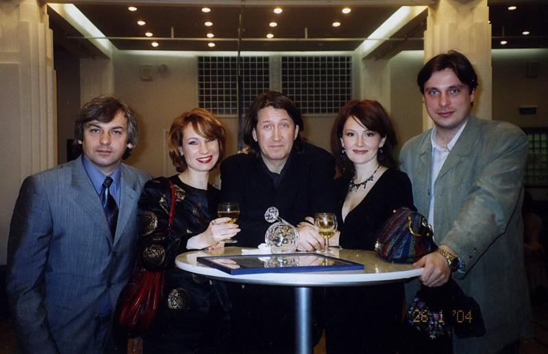 """Москва. В Театральном Центре """"На Страстном"""", 2004 г."""