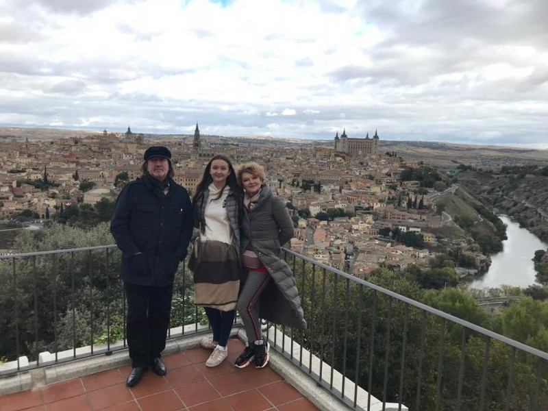 Толедо, Испания. Ноябрь 2018