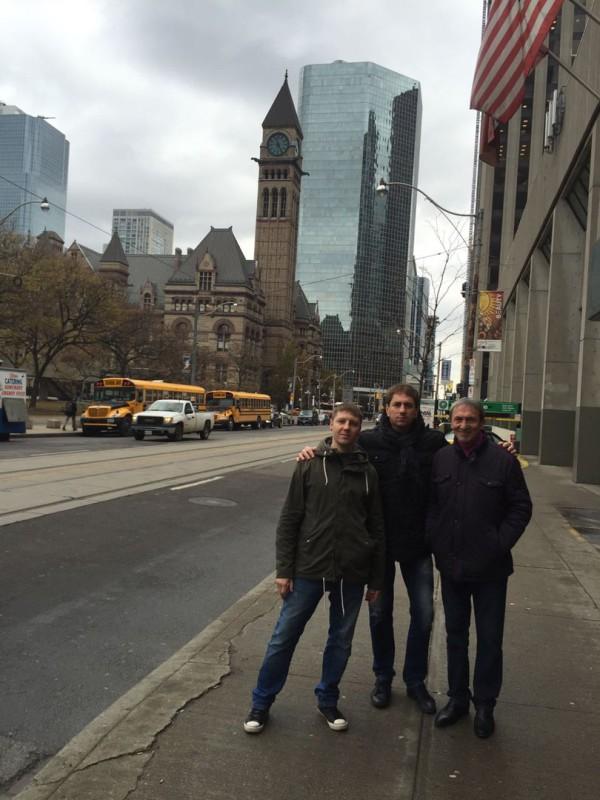 Торонто, ноябрь 2016 г