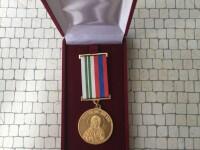 Медаль Фёдоровской иконы Божией Матери 1 степени
