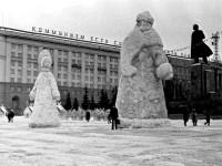1960-е годы. Площадь революции.
