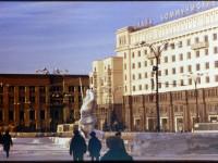 1974 г. Площадь революции.