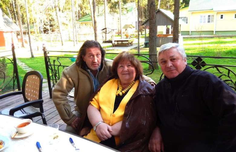 С В.Токаревой и А.Бруновым