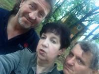 С Вероникой Долиной на 42 Грушинском фестивале