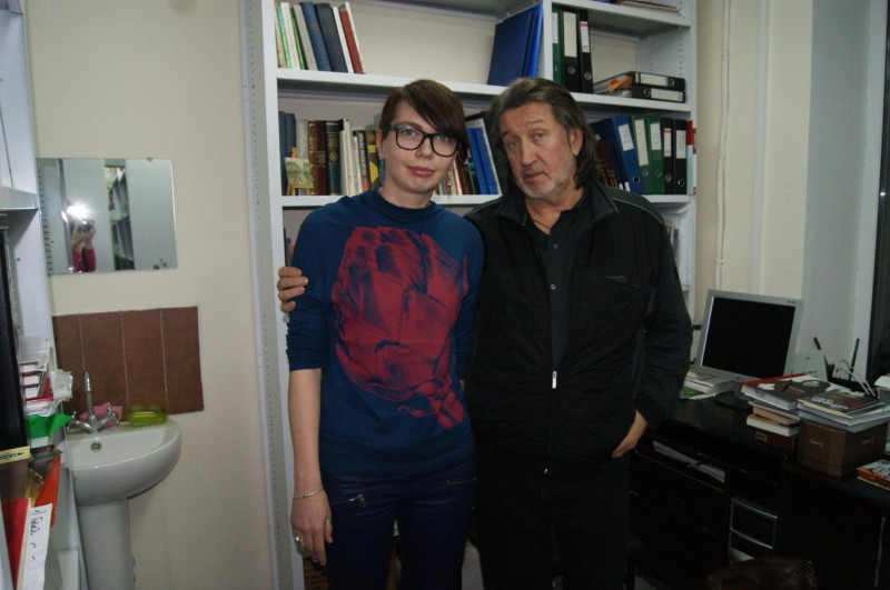 14.12.16 Москва. С Алисой Бошко