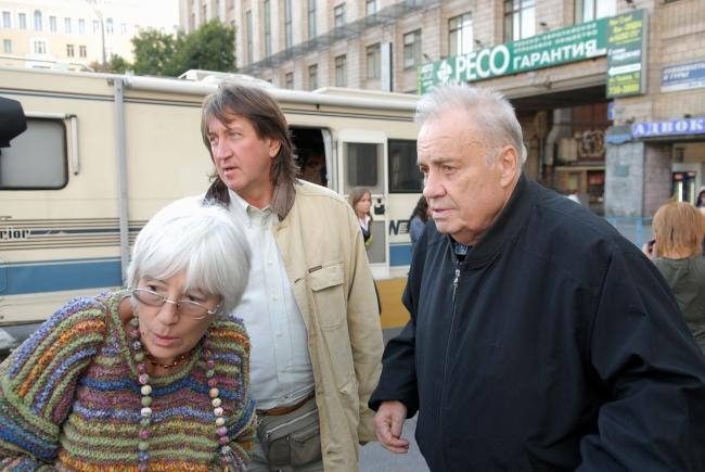 С Эльдаром Рязановым  и Эммой Абайдуллиной